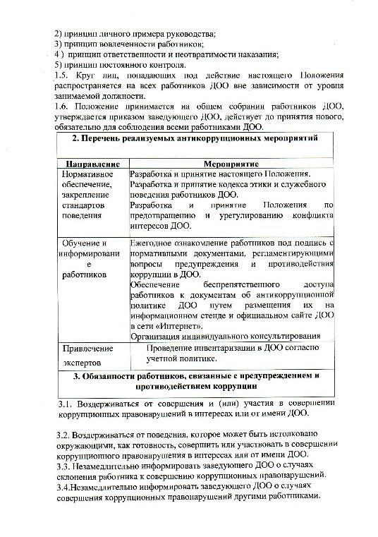 приказ об утверждении положения об антикоррупционной политике образец